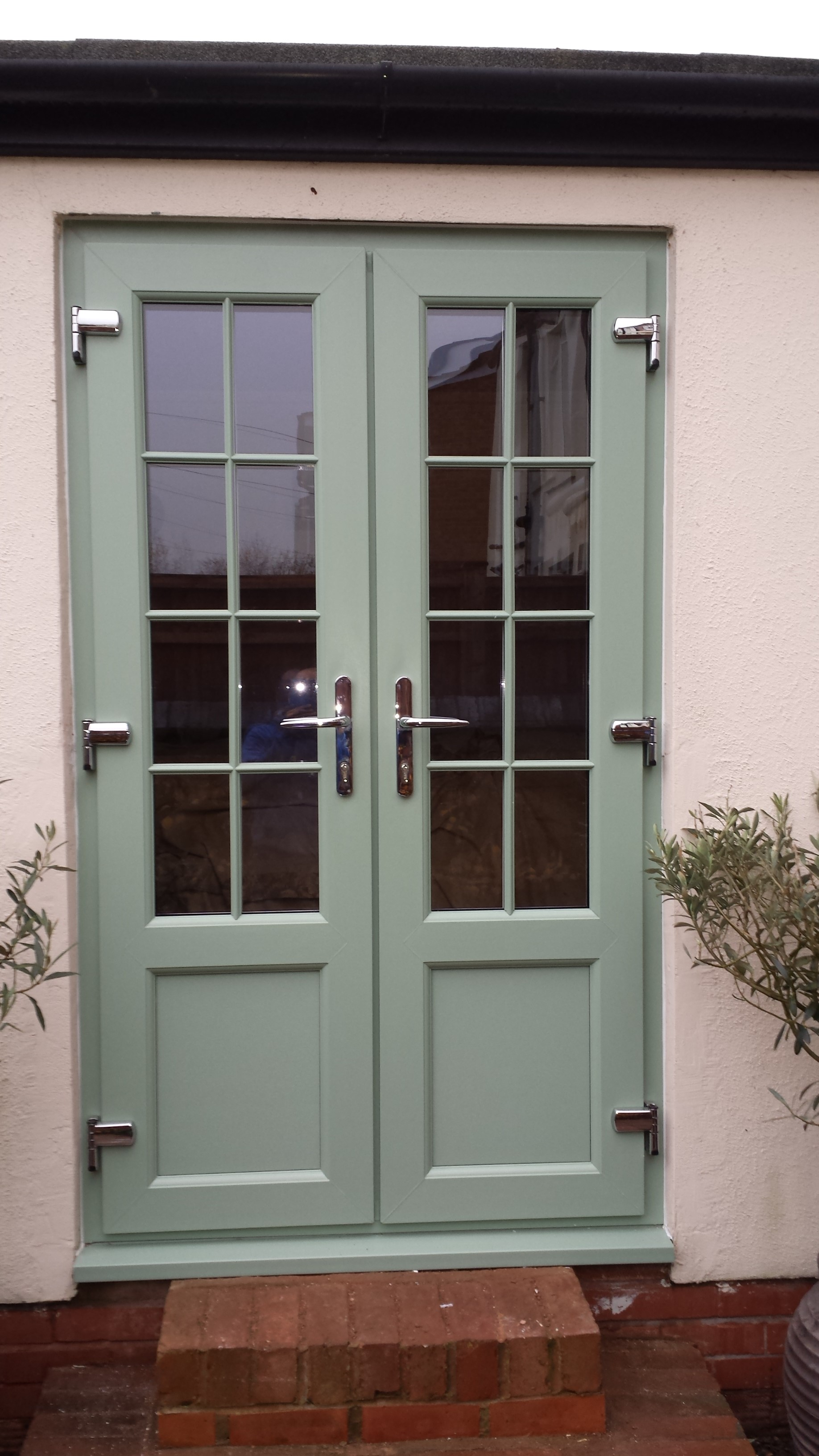 Pw installations french doors for Upvc french door locks